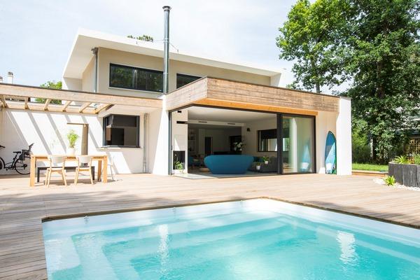 Maison moderne capbreton