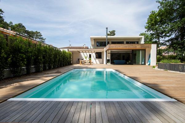 Villa Capbreotn avec piscine