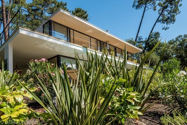 Villa toiture terrasse