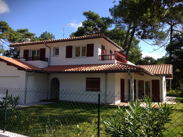 Maison traditionnelle Landes